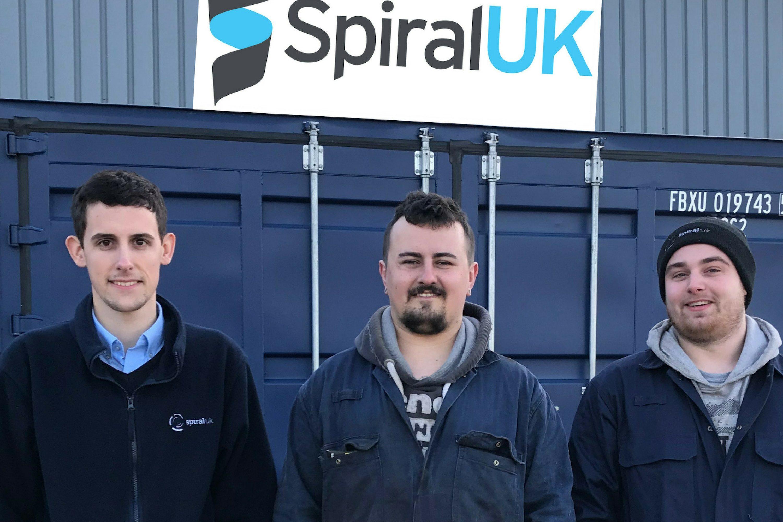 Spiral UK apprentices