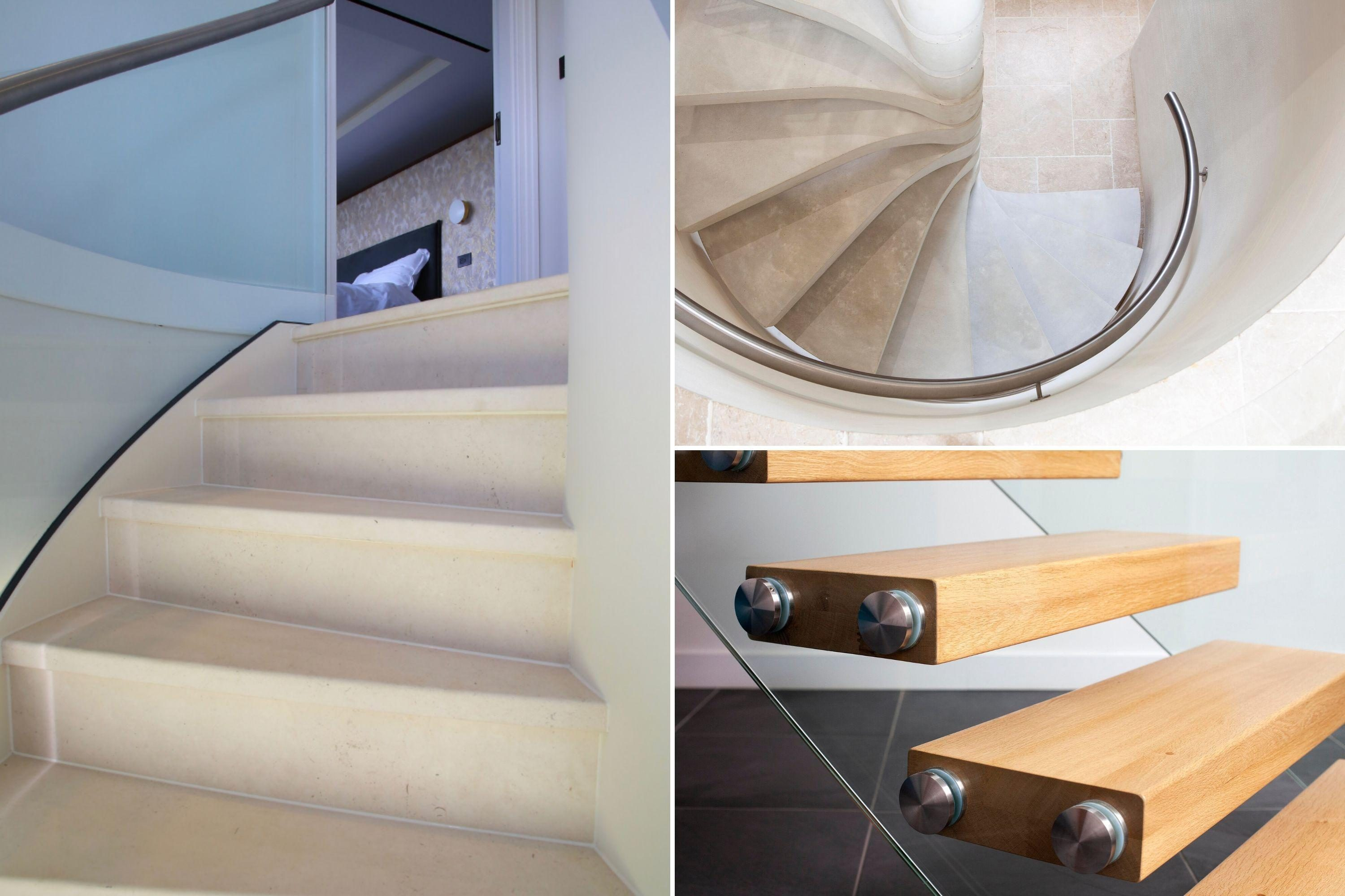 Options for stair treads
