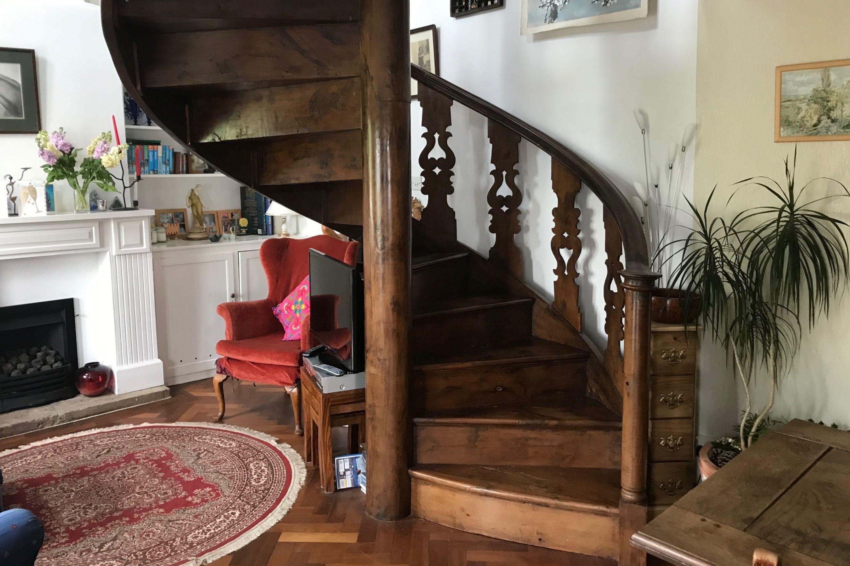 Victorian spiral staircase