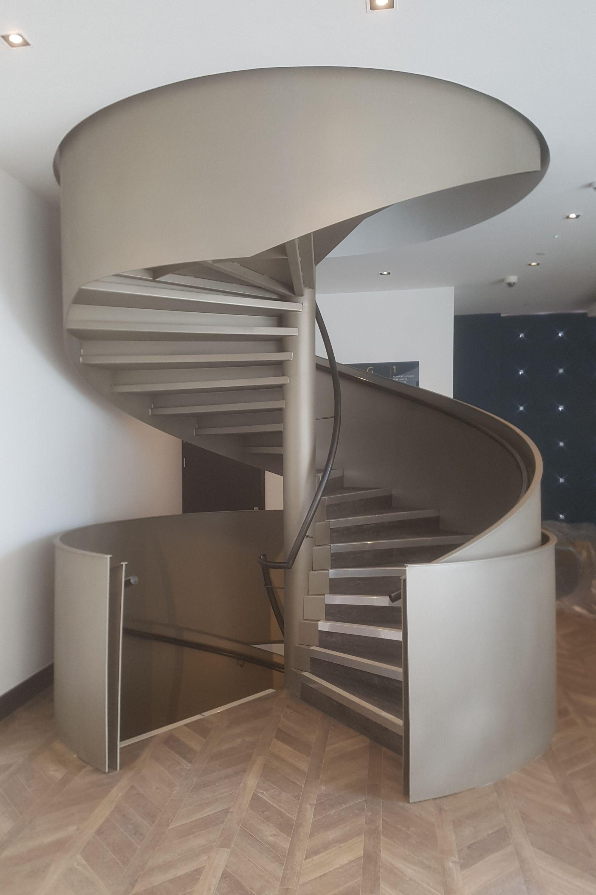 Office spiral stairs