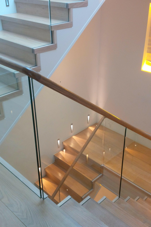 Straight dog-leg stair