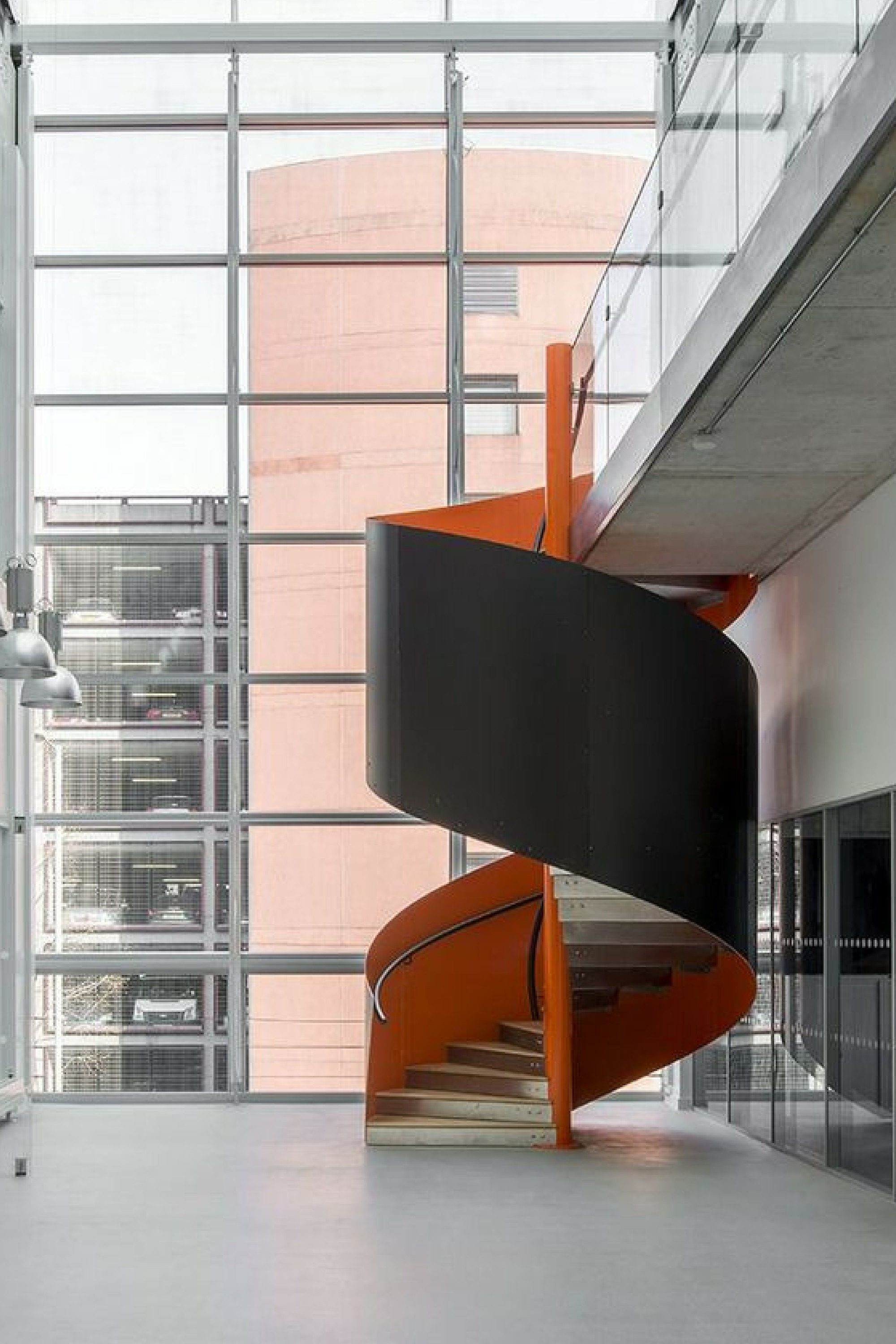 Commercial Spiral Staircases For Offices Commercial