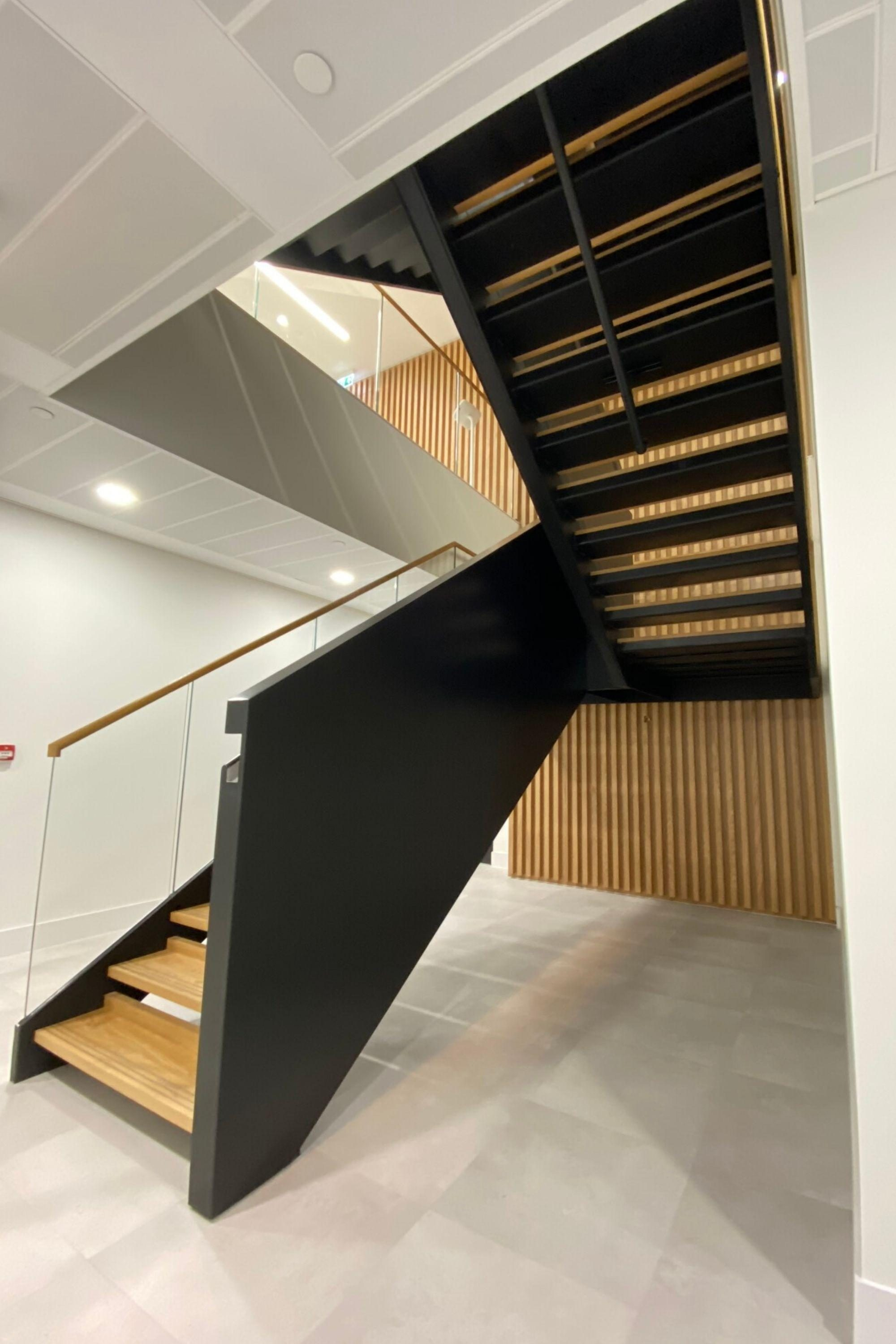 Fit out staircase