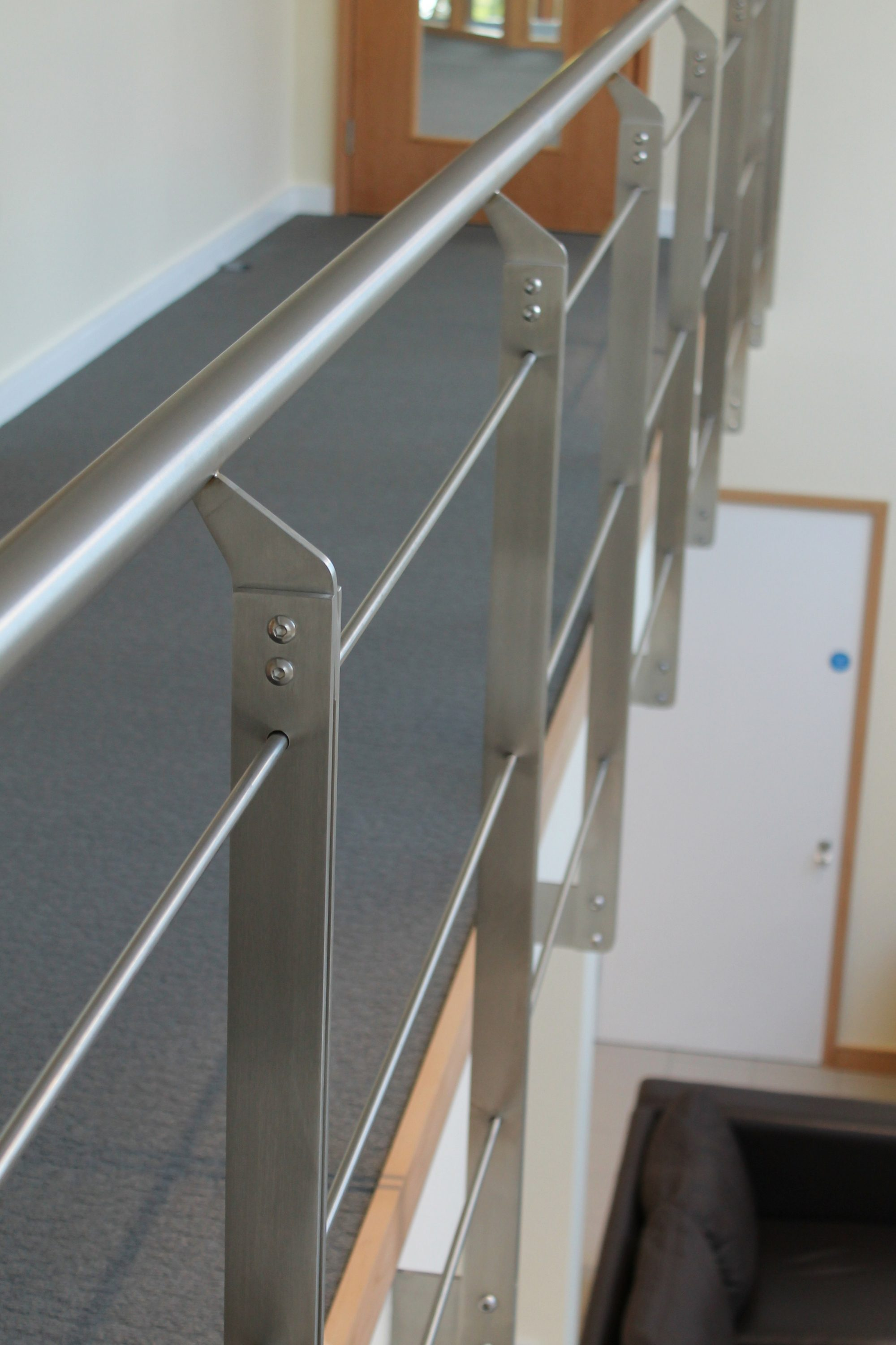 Commercial office balustrade