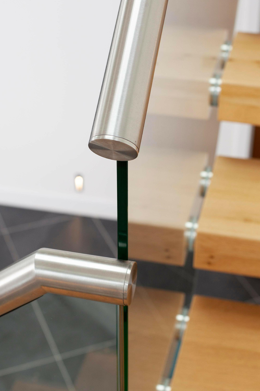 Glass balustrade and handrail
