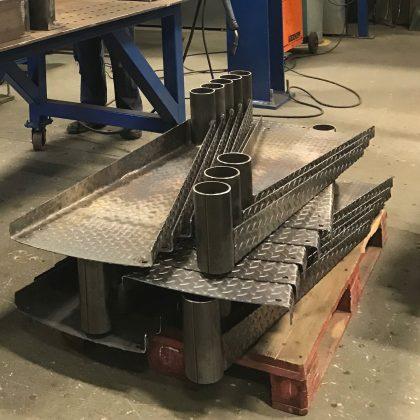 Steel treads